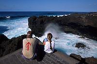 Piscinas naturales,  La Fajana bei Barlovento, La Palma, Kanarische Inseln, Spanien
