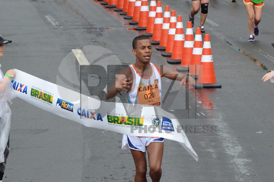 RIO DE JANEIRO-08/07/2012-David Kiprono, terceiro colocado na Maratona Caixa da Cidade do Rio de Janeiro, realizada no Aterro do Flamengo, zona sul do Rio.FOTO: Marcelo Fonseca-Brazil Photo Press
