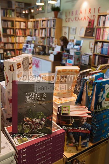 Amérique/Amérique du Nord/Canada/Québec/Montréal: A la Librairie Gourmande du Marché Jean Talon, un livre ets consacré au Marché Jean Talon, Montréal Ville Gourmande