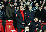 Louis van Gaal manager of Manchester United- FA Cup Fourth Round replay - Manchester Utd  vs Cambridge Utd - Old Trafford Stadium  - Manchester - England - 03rd February 2015 - Picture Simon Bellis/Sportimage