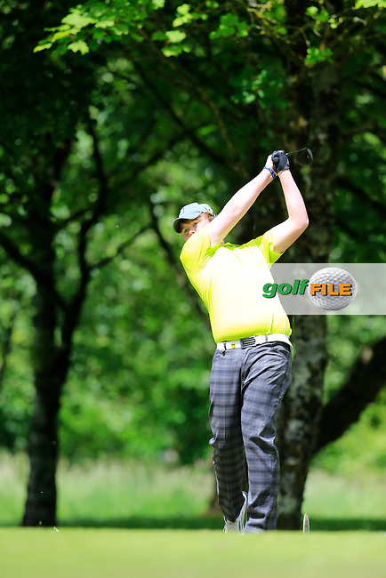 Andrew Hickey (Ballyhaunis) during the final round of the 2015 Irish Boys Amateur Open Championship, Tuam Golf Club, Tuam, Co Galway. 26/06/2015<br /> Picture: Golffile | Fran Caffrey