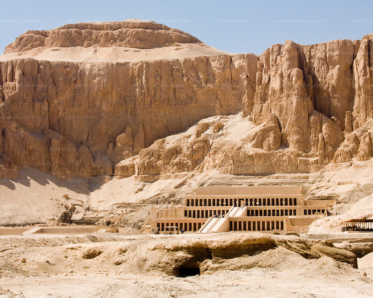 Edge of the valley (Hatshepsut Temple, Luxor, Egypt ...