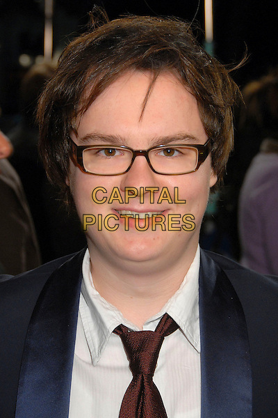 "CLARK DUKE.""Juno"" Los Angeles Premiere at Mann's Village Theater, Westwood, California, USA, 3 December 2007..portrait headshot glasses.CAP/ADM/BP.©Byron Purvis/AdMedia/Capital Pictures."
