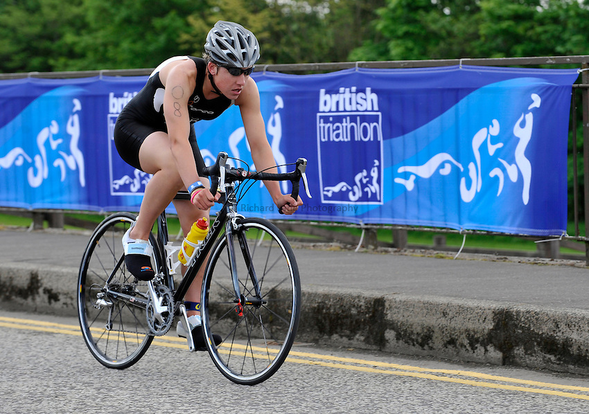 Photo: Paul Greenwood/Richard Lane Photography. Strathclyde Park Elite Triathlon. 17/05/2009. .England's Rebecca Milnes