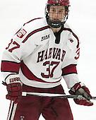 Desmond Bergin (Harvard - 37) - The Harvard University Crimson defeated the visiting Colgate University Raiders 7-4 (EN) on Saturday, February 20, 2016, at Bright-Landry Hockey Center in Boston, Massachusetts,