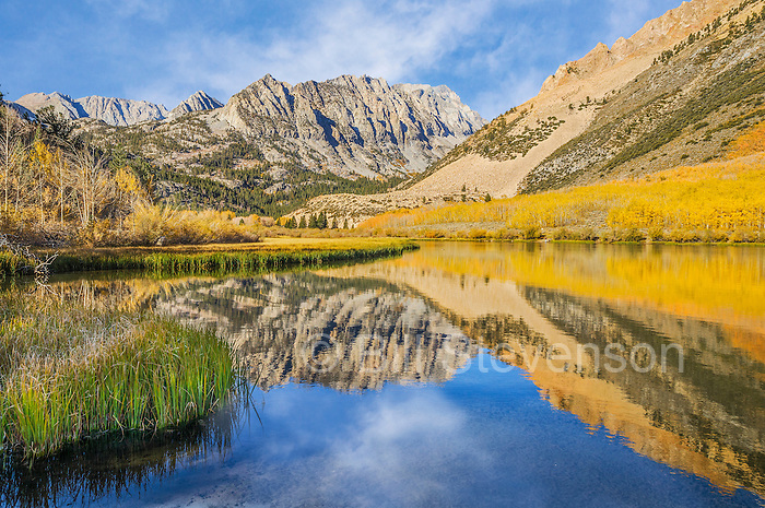 An image of North Lake during fall in the High Sierra of California.