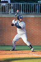 Hunter Kopycinski (4) of the Rice Owls at bat against the Charlotte 49ers at Hayes Stadium on March 6, 2015 in Charlotte, North Carolina.  The Owls defeated the 49ers 4-2.  (Brian Westerholt/Four Seam Images)