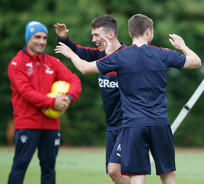 Ryan Jack and Jordan Rossiter