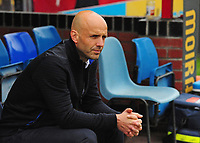 Exeter City manager Paul Tisdale<br /> <br /> Photographer Andrew Vaughan/CameraSport<br /> <br /> The EFL Sky Bet League Two Play Off First Leg - Lincoln City v Exeter City - Saturday 12th May 2018 - Sincil Bank - Lincoln<br /> <br /> World Copyright &copy; 2018 CameraSport. All rights reserved. 43 Linden Ave. Countesthorpe. Leicester. England. LE8 5PG - Tel: +44 (0) 116 277 4147 - admin@camerasport.com - www.camerasport.com