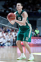 Zalgiris Kaunas' Paulius Jankunas during Euroleague 2012/2013 match.January 11,2013. (ALTERPHOTOS/Acero) /NortePhoto