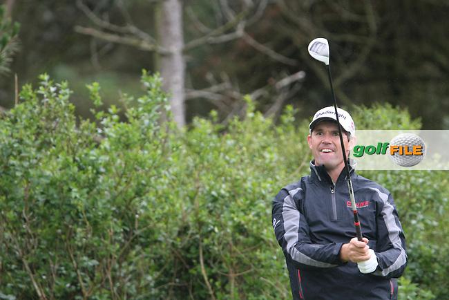 Padraig Harrington (IRL) on Day 2 of the 2012 Irish Open at Royal Portrush Golf Club, Portrush, Co.Antrim, 29/6/12...(Photo Jenny Matthews/www.golffile.ie)