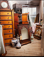 BNPS.co.uk (01202) 558833<br /> Picture: Bonhams<br /> <br /> A multitude of antiques will be included in the sale<br /> <br /> It is the ultimate garden sale -- The aristocrat Cunliffe-Copeland family are auctioning off millions of pounds of antiques in a unique sale of the entire contents of their stately home Trelissick House near Truro in Cornwall. For generations the family have filled the magnificent The 18th century manor with treasures acquired from travels around the globe.<br /> <br /> 58 years ago the house was left to the National Trust on the condition members of the family could carry on living in the property. But the current incumbent, William Copeland and wife Jennifer, have decided to buy a normal-sized family home and are unable to take the hundreds of heirlooms with them. So they are holding a two-day sale of ancient ornaments, paintings, furniture, jewellery, silverware, books, rugs and wine in the grounds of Trelissick House, near Truro, later this month, and hope to raise &pound;3million