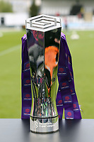 The FA Women's Super League Trophy during Arsenal Women vs Manchester City Women, FA Women's Super League Football at Meadow Park on 11th May 2019
