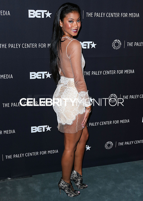 BEVERLY HILLS, CA, USA - OCTOBER 14: Eniko Parrish arrives at the Paley Center for Media's An Evening with BET Networks' 'Real Husbands of Hollywood' held at the The Paley Center for Media on October 14, 2014 in Beverly Hills, California, United States. (Photo by Xavier Collin/Celebrity Monitor)
