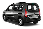 Car pictures of rear three quarter view of a 2019 Citroen Berlingo Feel 5 Door MPV angular rear