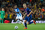 Ivan Rakitic of FC Barcelona in action during the La Liga 2017-18 match between FC Barcelona and Malaga CF at Camp Nou on 21 October 2017 in Barcelona, Spain. Photo by Vicens Gimenez / Power Sport Images