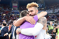 Real Madrid's Jeffery Taylor during 2017 King's Cup match between Real Madrid and Valencia Basket at Fernando Buesa Arena in Vitoria, Spain. February 19, 2017. (ALTERPHOTOS/BorjaB.Hojas) /NortEPhoto.com