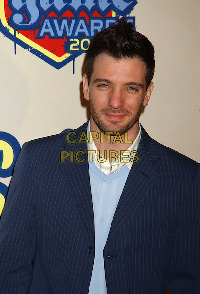 JC CHASEZ.Spike TV Video Game Awards 2004 held at the Barker Hangar. .December 14th, 2004.Photo Credit: Laura Farr/AdMedia.headshot, portrait beard facial hair.www.capitalpictures.com.sales@capitalpictures.com.© Capital Pictures.