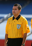 Assistant referee Hector Delgadillo, of Mexico, on Saturday, June 16th, 2007 at Gillette Stadium in Foxboro, Massachusetts. The United States Men's National Team defeated Panama 2-1 in a 2007 CONCACAF Gold Cup quarterfinal game.