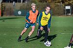 07.11.2018, Trainingsgelaende, Bremen, GER, RL Nord, Training Werder Bremen II<br /> <br /> im Bild<br /> Zinedine Kroeten, Pelle Hoppe (Werder Bremen II #15), <br /> <br /> Foto &copy; nordphoto / Ewert