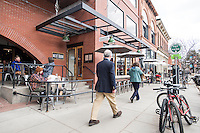 """The Kitchen Next Door in Boulder, Colorado, Friday, March 13, 2015. Kimbal Musk is CEO of The Kitchen restaurant group, with its flagship in Boulder. It is a """"farm-to-table"""" restaurant serving good food at decent prices. Musk also heads Learning Gardens, a non-profit that puts classroom-size gardens in schools so kids can center a curriculum around growing food.  <br /> <br /> Photo by Matt Nager"""