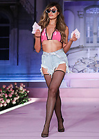 MANHATTAN, NEW YORK CITY, NEW YORK, USA - SEPTEMBER 08: A model walks the runway at the PrettyLittleThing x Saweetie runway show during New York Fashion Week: The Shows held at The Plaza Hotel on September 8, 2019 in Manhattan, New York City, New York, United States.