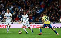 Real Madrid's Isco Alarcon  and UD Las Palmas' Vitolo during La Liga match. November 5,2017. (ALTERPHOTOS/Inma Garcia)