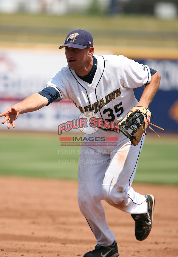 Matt Whitney of the Lake County Captains vs. the Delmarva Shorebirds: June 14th, 2007 at Classic Park in Eastlake, OH.  Photo by Mike Janes/Four Seam Images