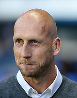 Reading Manager Jaap Stam during the Sky Bet Championship match between Reading and Aston Villa at the Madejski Stadium, Reading, England on 15 August 2017. Photo by Andy Rowland / PRiME Media Images.
