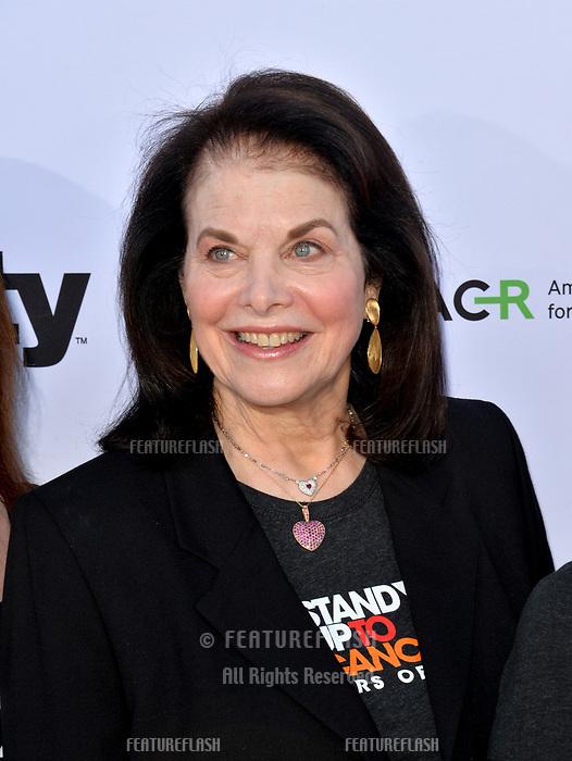 SANTA MONICA, CA. September 07, 2018: Sherry Lansing at the 2018 Stand Up To Cancer fundraiser at Barker Hangar, Santa Monica Airport.