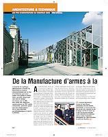 Le Moniteur (French Magazine) - 2010/02/12..Portrait of Guilia Andi and Finn Geipel..Photo: Jan Zappner