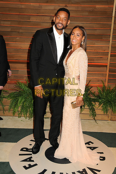 02 March 2014 - West Hollywood, California - Will Smith, Jada Pinkett Smith. 2014 Vanity Fair Oscar Party following the 86th Academy Awards held at Sunset Plaza.  <br /> CAP/ADM/BP<br /> &copy;Byron Purvis/AdMedia/Capital Pictures