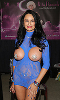 Rita Daniels at Exxxotica, Broward County Convention Center, Fort Lauderdale, FL, Friday May 2, 2014.