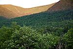 Sunrise at Tuckermans Ravine, Mount Washington, Pinkham Notch, White Mountain National Forest, NH, USA