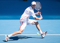Andreas Seppi..Tennis - Australian Open - Grand Slam -  Melbourne Park  2013 -  Melbourne - Australia - Monday 21st January  2013. .© AMN Images, 30, Cleveland Street, London, W1T 4JD.Tel - +44 20 7907 6387.mfrey@advantagemedianet.com.www.amnimages.photoshelter.com.www.advantagemedianet.com.www.tennishead.net