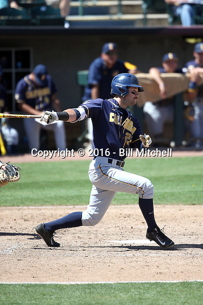 Aaron Knapp - 2016 California Golden Bears (Bill Mitchell)