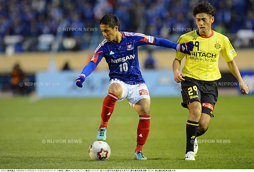 Yuji Ono (F Marinos), DECEMBER 29, 2012 - Football / Soccer : The 92nd Emperor's Cup, Semi-final match between Yokohama F Marinos 0-1 Kashiwa Reysol at National Stadium in Tokyo, Japan. (Photo by Takamoto Tokuhara/AFLO)