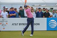 Russell Knox (IRL) watches his tee shot on 2 during round 4 of the AT&T Byron Nelson, Trinity Forest Golf Club, at Dallas, Texas, USA. 5/20/2018.<br /> Picture: Golffile | Ken Murray<br /> <br /> All photo usage must carry mandatory copyright credit (© Golffile | Ken Murray)