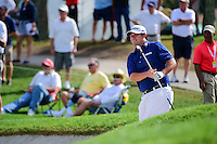 Johnson Wagner (USA) hits from the trap on 16 during round 1 of the Honda Classic, PGA National, Palm Beach Gardens, West Palm Beach, Florida, USA. 2/23/2017.<br /> Picture: Golffile | Ken Murray<br /> <br /> <br /> All photo usage must carry mandatory copyright credit (&copy; Golffile | Ken Murray)