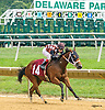 Cohasset winning at Delaware Park on 8/25/16
