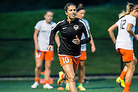 Allston, MA - Wednesday Aug. 31, 2016: Carli Lloyd prior to a regular season National Women's Soccer League (NWSL) match between the Boston Breakers and the Houston Dash at Jordan Field.