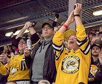 Sarnia Sting final regular season hockey game against the Kitchener Rangers at the Progressive Auto Sales Area.