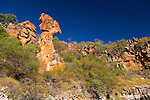 A geologic feature known as Thor's Hammer, The Kimberley, Western Australia