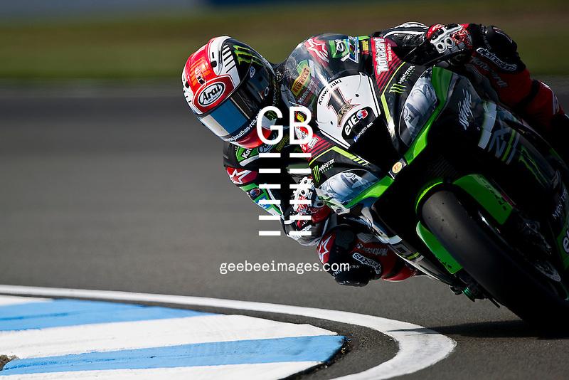 2016 FIM Superbike World Championship, Round 07, Donington Park, United Kingdom, Jonathan Rea, Kawasaki