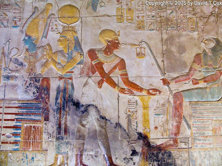 Abydos Temple of Seti I, Luxor, Egypt