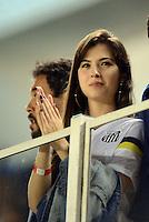 SANTOS SP, 13 Julho 2013 - Santos  X Portuguesa.   Torcida  durante partida valida pela 7 rodada do brasileirao 2013  no Estadio da Vila Belmiro em   Santos SP, neste sabado , 13. (FOTO: ALAN MORICI / BRAZIL PHOTO PRESS).