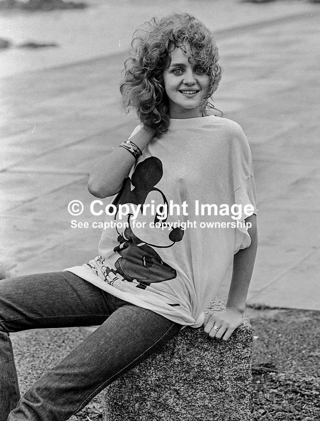 Anne O'Callaghan, Mount Carmel, Bray Road, Foxrock, Co Dublin, winner, 1979, Mary from Dugloe competition, 67/79, 197900000067e..Copyright Image from Victor Patterson, 54 Dorchester Park, Belfast, N Ireland, BT9 6RJ...Tel: +44 28 9066 1296.Mob: +44 7802 353836.Fax: +7092 356429.Email: victorpatterson@mac.com..IMPORTANT: No unauthorised use may be made of this image nor can it be passed on to a third party without the written permission (letter, fax or email) of the copyright owner, Victor Patterson. A fee should be agreed in advance of publication. On request a copy of my terms and conditions in PDF or Word format will be emailed to you. This image is for editorial use only as no model release form is available.