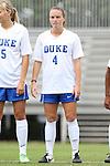 14 September 2014: Duke's Ashton Miller. The Duke University Blue Devils hosted the Louisiana State University Tigers at Koskinen Stadium in Durham, North Carolina in a 2014 NCAA Division I Women's Soccer match. Duke won the game 1-0.