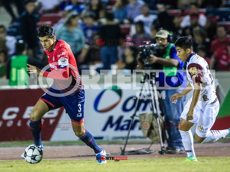 Othoniel Arce, durante el partido de futbol soccer entre Potros del Atlante vs  Cimarrones Fc, Jornada 16 torneo Apertura de la Liga Ascenso MX 2016. Estadio H&eacute;roe de Nacozari. *****<br /> &copy;Foto: LuisGutierrrez/NortePhoto