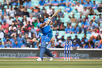 Rohit Sharma (India) fails to make contact as he attempts to work to leg during India vs Australia, ICC World Cup Cricket at The Oval on 9th June 2019